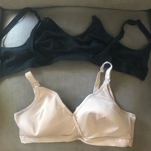 2 playtex nursing bras